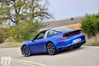Fotos prueba Porsche 911 Targa Foto 10