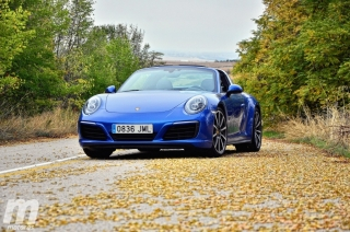 Fotos prueba Porsche 911 Targa Foto 16