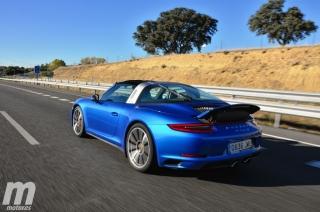 Fotos prueba Porsche 911 Targa Foto 28