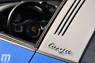 Fotos prueba Porsche 911 Targa Foto 43