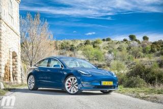 Fotos prueba Tesla Model 3 Foto 4