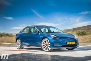 Fotos prueba Tesla Model 3 Foto 6