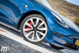 Fotos prueba Tesla Model 3 Foto 8
