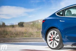 Fotos prueba Tesla Model 3 Foto 9