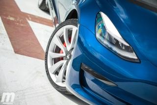 Fotos prueba Tesla Model 3 Foto 11