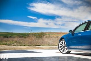 Fotos prueba Tesla Model 3 Foto 25
