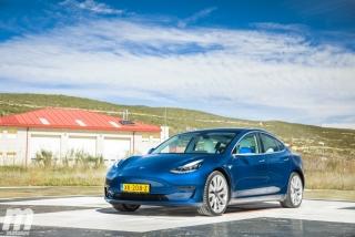 Fotos prueba Tesla Model 3 Foto 34