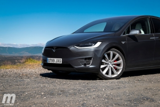 Fotos prueba Tesla Model X P100D - Foto 6