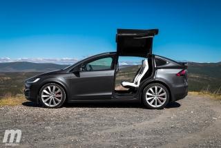 Fotos prueba Tesla Model X P100D Foto 17