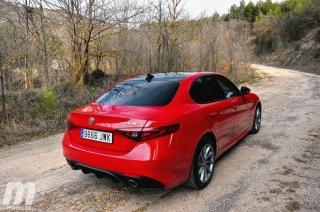 Fotos prueba Video prueba Alfa Romeo Giulia Veloce Q4 Diesel Foto 7