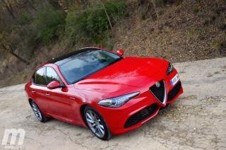 Fotos prueba Video prueba Alfa Romeo Giulia Veloce Q4 Diesel Foto 8
