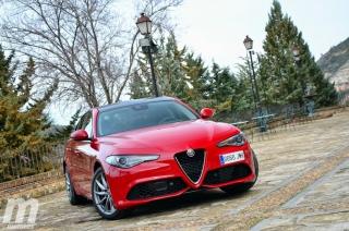 Fotos prueba Video prueba Alfa Romeo Giulia Veloce Q4 Diesel Foto 10