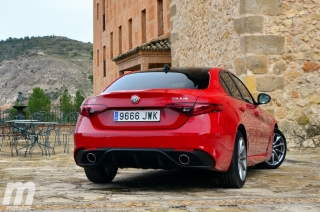 Fotos prueba Video prueba Alfa Romeo Giulia Veloce Q4 Diesel Foto 11