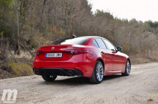Fotos prueba Video prueba Alfa Romeo Giulia Veloce Q4 Diesel Foto 12
