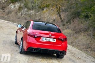 Fotos prueba Video prueba Alfa Romeo Giulia Veloce Q4 Diesel Foto 14
