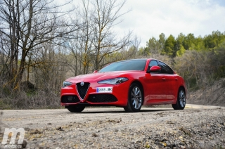 Fotos prueba Video prueba Alfa Romeo Giulia Veloce Q4 Diesel Foto 15