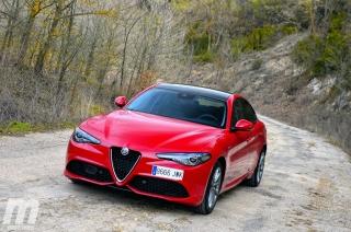 Fotos prueba Video prueba Alfa Romeo Giulia Veloce Q4 Diesel Foto 16