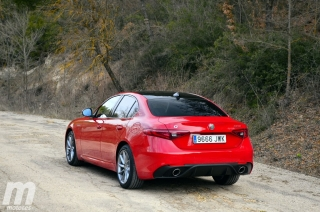 Fotos prueba Video prueba Alfa Romeo Giulia Veloce Q4 Diesel Foto 17