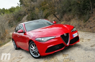 Fotos prueba Video prueba Alfa Romeo Giulia Veloce Q4 Diesel Foto 18