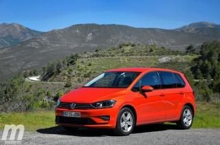 Fotos prueba Volkswagen Golf Sportsvan 1.6 TDI DSG Foto 7