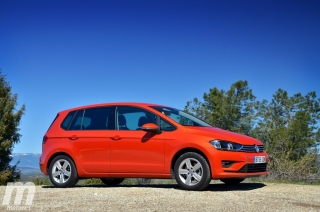 Fotos prueba Volkswagen Golf Sportsvan 1.6 TDI DSG Foto 10