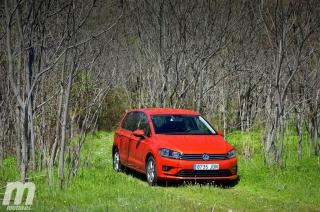 Fotos prueba Volkswagen Golf Sportsvan 1.6 TDI DSG Foto 18