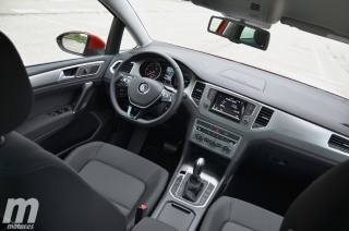 Fotos prueba Volkswagen Golf Sportsvan 1.6 TDI DSG Foto 32