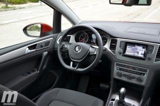 Fotos prueba Volkswagen Golf Sportsvan 1.6 TDI DSG Foto 33