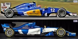 Fotos Sauber C36 F1 2017 - Foto 6