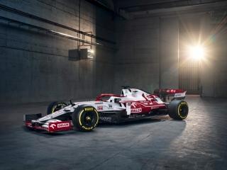 Las fotos del Alfa Romeo C41 de F1 2021