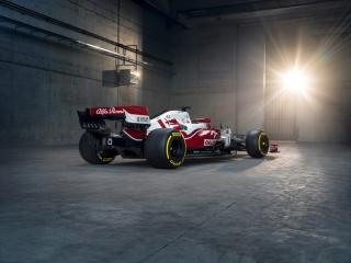 Las fotos del Alfa Romeo C41 de F1 2021 - Miniatura 6