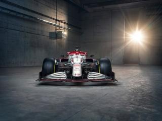 Las fotos del Alfa Romeo C41 de F1 2021 - Miniatura 7
