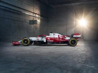 Las fotos del Alfa Romeo C41 de F1 2021 - Miniatura 9