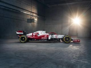 Las fotos del Alfa Romeo C41 de F1 2021 - Miniatura 10