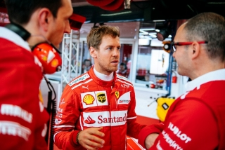 Fotos Sebastian Vettel F1 2017 Foto 11