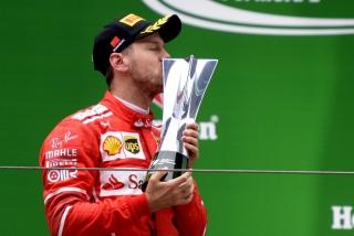 Fotos Sebastian Vettel F1 2017 Foto 27