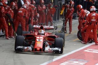 Fotos Sebastian Vettel F1 2017 Foto 81