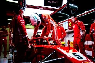 Fotos Sebastian Vettel F1 2018