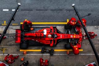 Fotos Sebastian Vettel F1 2019 Foto 9