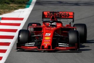 Fotos Sebastian Vettel F1 2019 Foto 14
