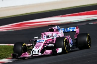 Foto 2 - Fotos Sergio Pérez F1 2018