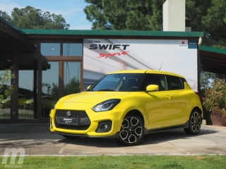 Foto 1 - Fotos Suzuki Swift Sport 2018