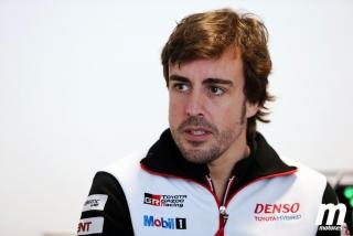 Fotos test Fernando Alonso con Toyota en Portimao