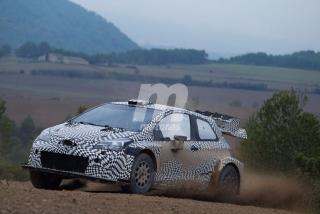 Foto 2 - Fotos de los test del Toyota Yaris WRC 2017 y del Ford Fiesta RS WRC 2017