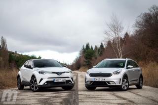 Fotos Toyota C-HR vs Kia Niro - Foto 3