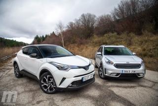 Fotos Toyota C-HR vs Kia Niro Foto 6