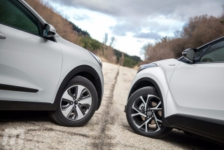 Fotos Toyota C-HR vs Kia Niro - Foto 2