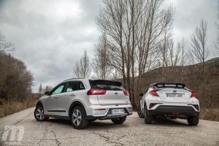 Fotos Toyota C-HR vs Kia Niro - Foto 4
