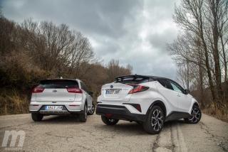 Fotos Toyota C-HR vs Kia Niro Foto 8
