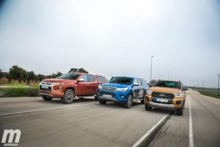 Foto 3 - Fotos Toyota Hilux vs Ford Ranger vs Mitsubishi L200